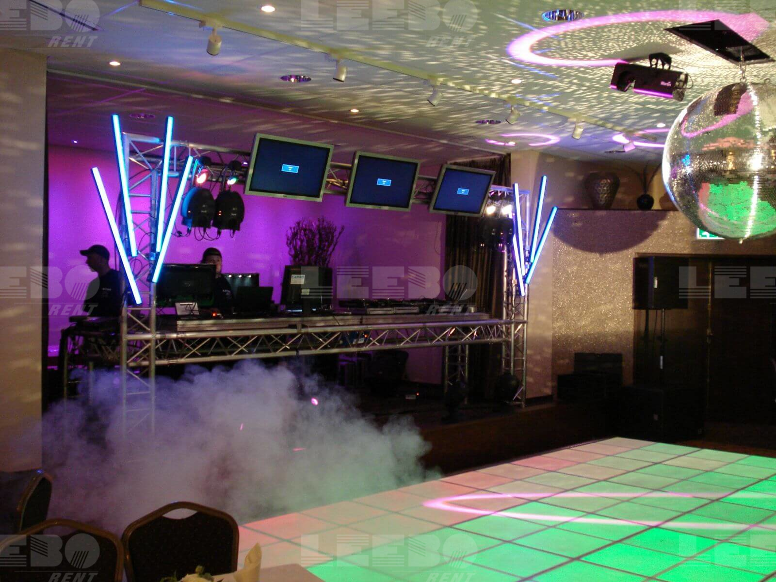 Saturdat Night fever event verzorgt door Leeborent